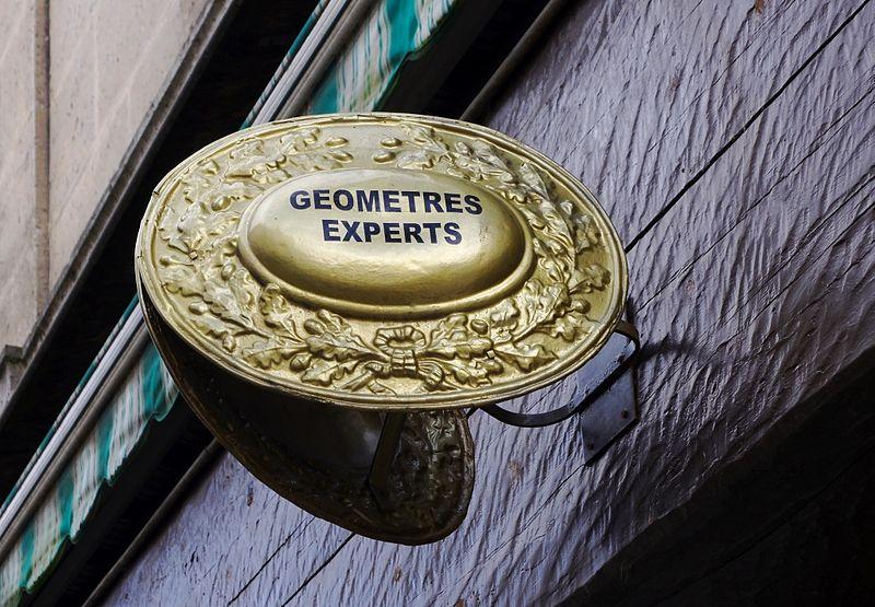 Enseigne Géomètres-Experts
